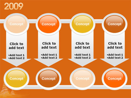N 2009 Y Free PowerPoint Template Slide 18