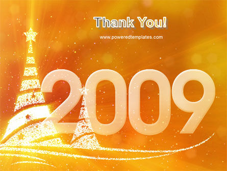 N 2009 Y Free PowerPoint Template Slide 20