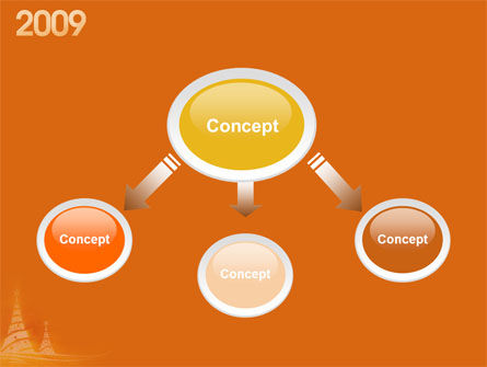 N 2009 Y Free PowerPoint Template Slide 4