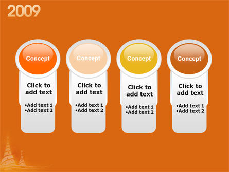 N 2009 Y Free PowerPoint Template Slide 5