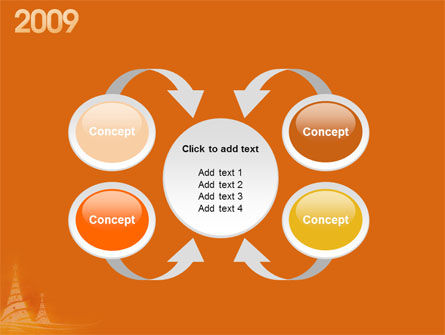 N 2009 Y Free PowerPoint Template Slide 6