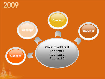 N 2009 Y Free PowerPoint Template Slide 7