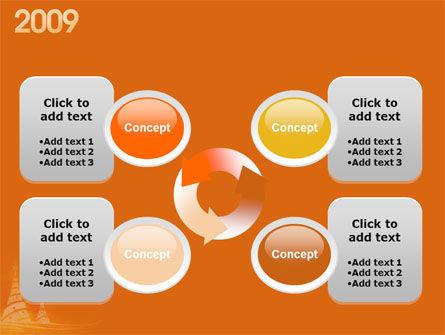 Free N 2009 Y PowerPoint Template Slide 9