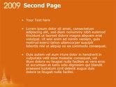 N 2009 Y Free PowerPoint Template#2
