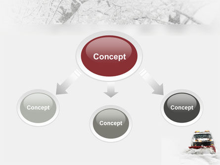 Snowdrift PowerPoint Template, Slide 4, 04146, Nature & Environment — PoweredTemplate.com