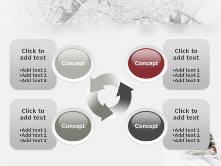 Snowdrift PowerPoint Template Slide 9