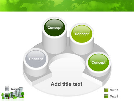 Green District PowerPoint Template Slide 12