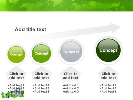 Green District PowerPoint Template Slide 13