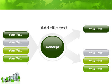 Green District PowerPoint Template Slide 14