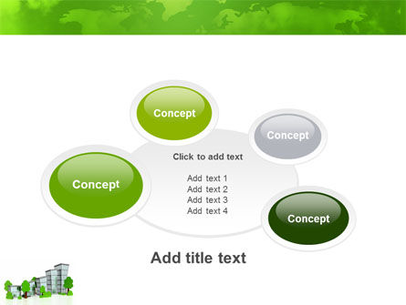 Green District PowerPoint Template Slide 16