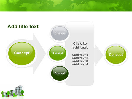 Green District PowerPoint Template Slide 17