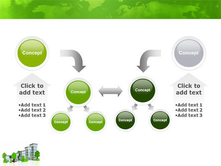 Green District PowerPoint Template Slide 19