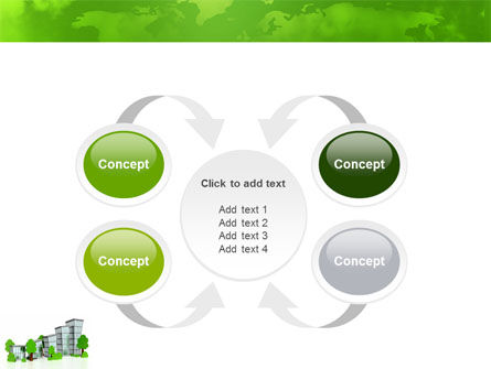 Green District PowerPoint Template Slide 6