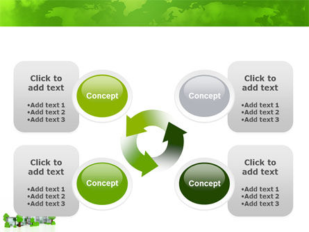 Green District PowerPoint Template Slide 9