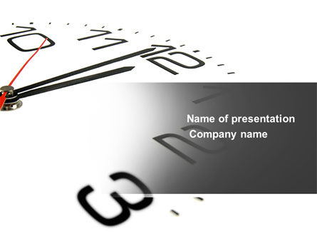 Noon PowerPoint Template, 04149, Business — PoweredTemplate.com
