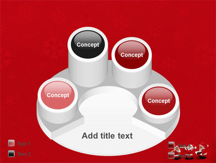 Little Santa Clauses PowerPoint Template Slide 12
