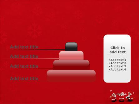 Little Santa Clauses PowerPoint Template Slide 8