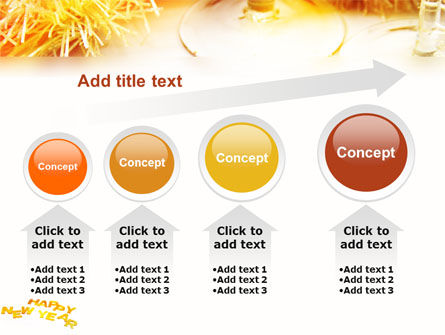 New Year Party Free PowerPoint Template Slide 13
