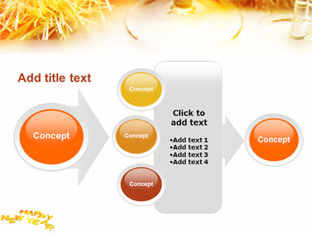 New Year Party Free PowerPoint Template Slide 17