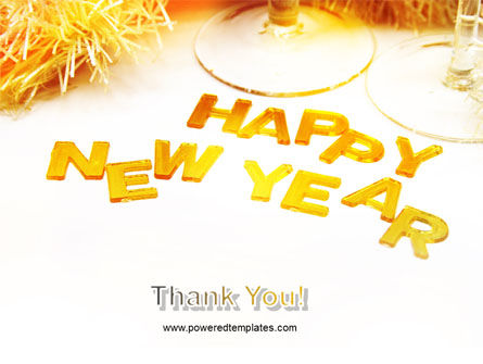 New Year Party Free PowerPoint Template Slide 20
