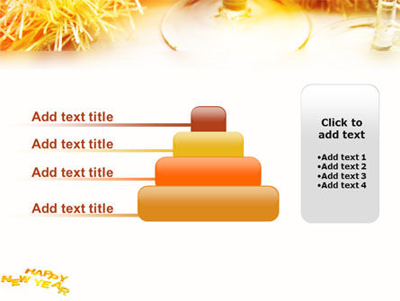 Free New Year Party PowerPoint Template Slide 8