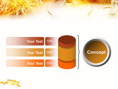 New Year Party Free PowerPoint Template#11