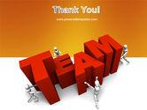 Team Efforts PowerPoint Template#20
