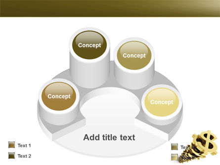 Stack Of Dollar PowerPoint Template Slide 12