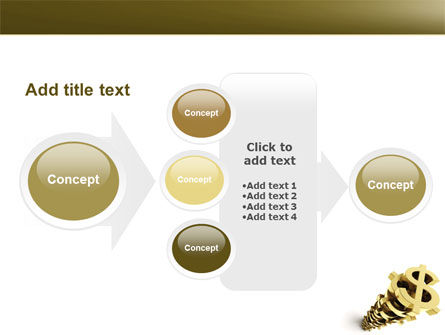 Stack Of Dollar PowerPoint Template Slide 17