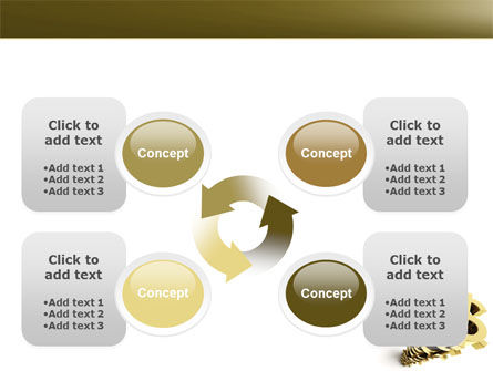 Stack Of Dollar PowerPoint Template Slide 9