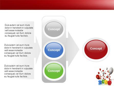 Celebrating 2009 PowerPoint Template Slide 11