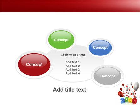 Celebrating 2009 PowerPoint Template Slide 16