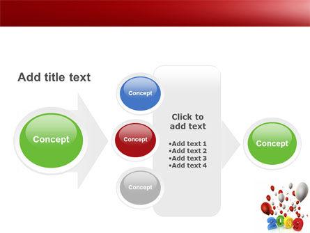 Celebrating 2009 PowerPoint Template Slide 17