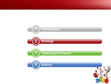 Celebrating 2009 PowerPoint Template, Slide 3, 04161, Holiday/Special Occasion — PoweredTemplate.com