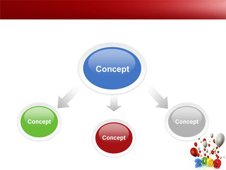 Celebrating 2009 PowerPoint Template, Slide 4, 04161, Holiday/Special Occasion — PoweredTemplate.com