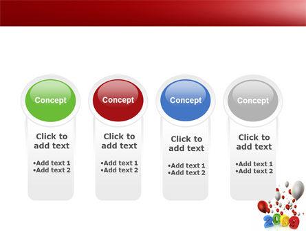 Celebrating 2009 PowerPoint Template Slide 5