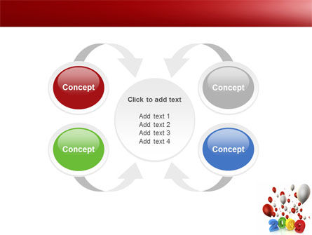 Celebrating 2009 PowerPoint Template Slide 6