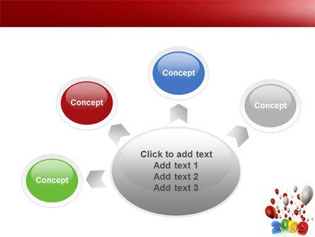 Celebrating 2009 PowerPoint Template Slide 7