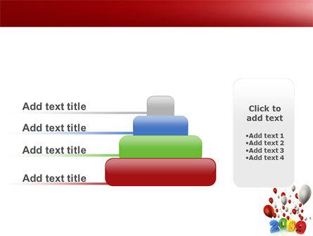 Celebrating 2009 PowerPoint Template Slide 8