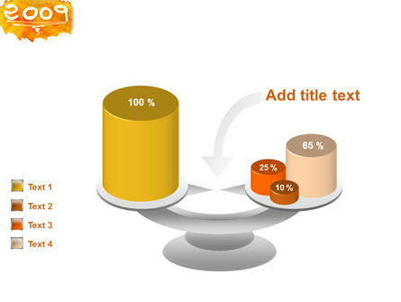 Free NY Cake PowerPoint Template Slide 10