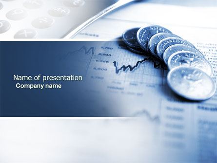 Financial/Accounting: Economy PowerPoint Template #04164