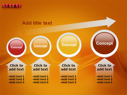 Events PowerPoint Template Slide 13