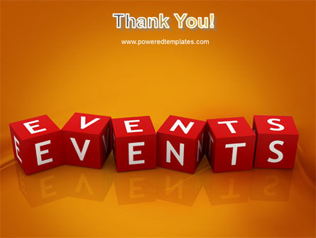 Events PowerPoint Template Slide 20