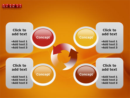 Events PowerPoint Template Slide 9