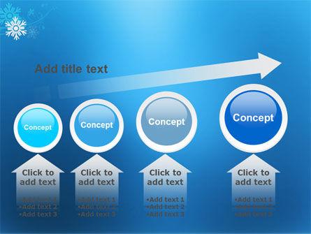 Snowflake Theme PowerPoint Template Slide 13