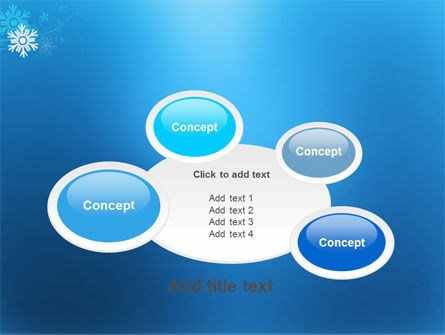 Snowflake Theme PowerPoint Template Slide 16