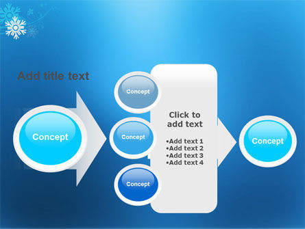 Snowflake Theme PowerPoint Template Slide 17