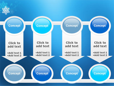 Snowflake Theme PowerPoint Template Slide 18