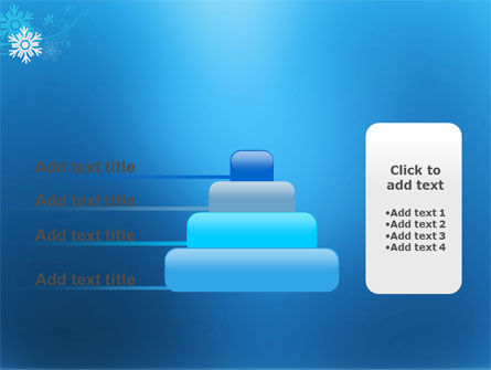 Snowflake Theme PowerPoint Template Slide 8