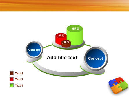 Jigsaw Pieces PowerPoint Template Slide 16